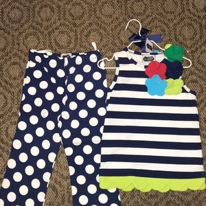 Mud Pie outfit NWT